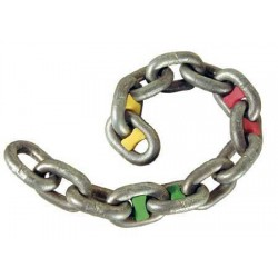 14 Chain Markers 6mm Green