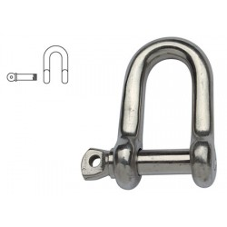 Stainless Steel D shackle 10mm