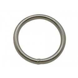 Stainless Steel Round Ring 8 x 70 mm