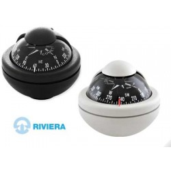 Navigation Compass Riviera Comet BC2 - White with Bracket
