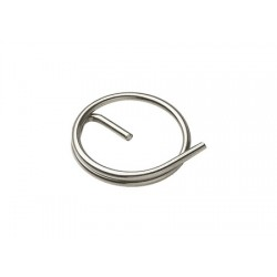 Inox bolt ring with 20 x 1.5 mm lock (bag 10 units)