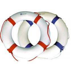 Polystyrene Pool Lifebuoy White and Blue 600mm