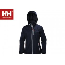 Jacket Helly Hansen Crew Midlayer Blue Woman  - Size L
