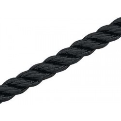 "Marine Rope Black ""Classic"" 20mm x 100mt"