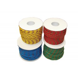 yellow rope ø mm.2x40mt