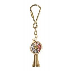 Telegraph nautical keychain