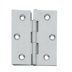 butt hinge nickel plated mm.25x25