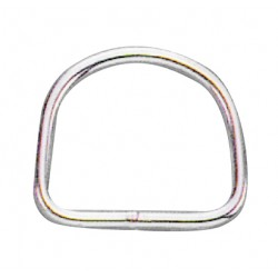 Stainless steel d ring 6X40X37h mm