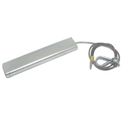Zinc Suspended anode 190mm