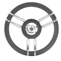 Steering wheel grey or 350 Mm T27
