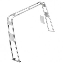 Adjustable Stainless Steel Roll-Bar 50mm x H1450mm