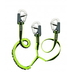 Safety Line Three Hooks 1.5mt XM Yachting
